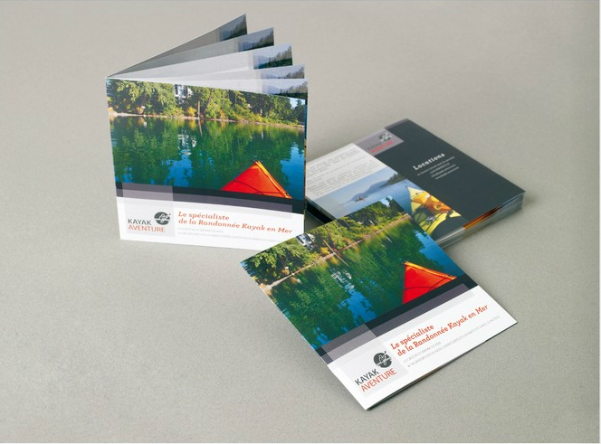 Brochure carrée
